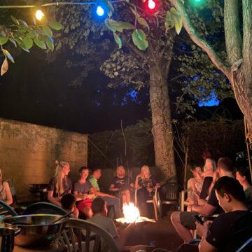 Chillimilli am Feuer